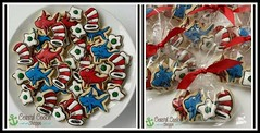 Happy Birthday to a little guy turning 1, who is coincidentally having a Dr. Seuss themed party the same week as Dr Seuss' birthday!   Cookies always look cute on platters, but make great take-away Favours as well! #coastalcookieshoppe #decoratedcookies # (Coastal Cookie Shoppe (was east coast cookies)) Tags: drseuss victoriabc greeneggs catinthehat decoratedcookies customcookies coastalcookieshoppe cookiesvictoriabc