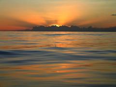 Dead still in the middle of the Pacific Ocean (Slackadventure) Tags: sun water boats islands sailing pacificocean cruisers circumnavigation marquesas slackadventure