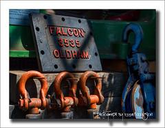 Falcon 3535 (Fermat48) Tags: uk shadows lancashire shackles pulleys astleycolliery falcon3535