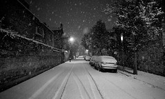 Snowy lane, Rathmines, Dublin, Ireland. (2c..) Tags: city trees ireland winter bw dublin irish snow black building digital evening flickr capital getty gettyimages 2c rathmines digitallywatermarked digitalwatermarked 72dpipreview 2cireland 2cimage lowresolutionpreview 2c