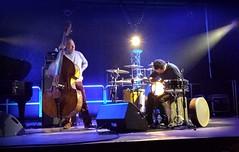 Avishai Cohen and Daniel Dor (Gael Varoquaux) Tags: music drums concert jazz cello