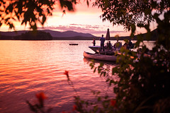 Twin Lakes (Zac Staffiere) Tags: sunset summer connecticut bearmountain twinlakes lakehouse