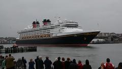 Feel me (quintinsmith_ip) Tags: sea people river fun ship down tourist disney passenger passing shipping southshields waltdisney disneymagic rivertyne
