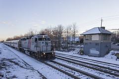 CNJ Geep at BJ Tower (sully7302) Tags: railroad cn train central nj trains amtrak transit penn locomotive erie cp ge lackawanna csx emd