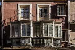 Calle Compaa (svg74) Tags: mlaga costadelsol fachada balcones balcon ventana window balcony terraza spain espaa andaluca andalusia arquitectura architecture