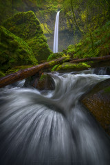 Elowah (Ryan_Buchanan) Tags: green oregon waterfall nikon long exposure pacific northwest falls buchanan elowa exposurescape