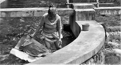 Washing away (Mango*Photography) Tags: pictures street people bali white black water indonesia temple photography bath photographer expression images holy wash strong emotional tirta empul powerful giulia bergonzoni