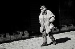 DSC_0242 (verrili setana) Tags: street shadow people blackandwhite man black monochrome photography blackwhite background border streetphotography shade belgrade bianco beograd bwphotography sokak siyahvebeyaz