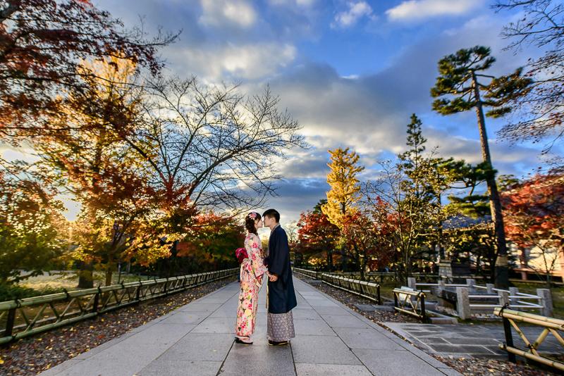 京都婚紗和服,日本婚紗,京都婚紗,京都楓葉婚紗,海外婚紗,和服拍攝,和服體驗,楓葉婚紗,DSC_0098