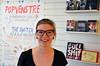 Marie Sneve Martinussen på Eldorado (rødt.no) Tags: festival eldorado bokhandel rødt nestleder mariesnevemartinussen eldoradobokhandel popvenstre