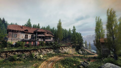 VOEC - 044 (Screenshotgraphy) Tags: sunset sky mountain lake game nature colors architecture clouds contrast montagne landscape pc screenshot lumire couleurs country lac ethan steam gaming ciel beaut carter concept nuages paysage vanishing campagne beautifull jeu naturelle urbain