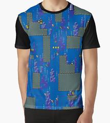 kebuenowilly: Super Mario World water stage graphic t-shirt (Memes, T-Shirts) Tags: world funny geek nintendo 8 tshirt super mario retro gaming gifts pixel pixelart nes 16 8bit tshirts merch maker mariobros bros tee yoshi bit snes supermario 16bit mariomaker