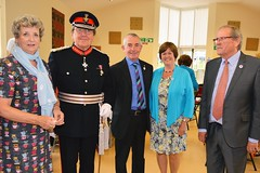 Group with Lord Lieutenant