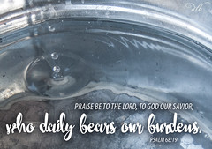 Psalm 68:19 (dianabog ) Tags: bible scripture theword