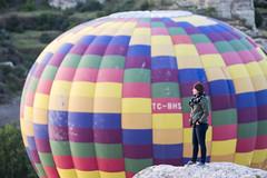 in passing (eb78) Tags: turkey middleeast hotairballoon cappadocia anatolia goreme