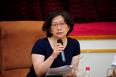 Panelist Yan Fang at the 2016 Global Food Policy Report Launch in Beijing (IFPRI-IMAGES) Tags: poverty energy event health research conflict conference agriculture economic development climatechange sustainability policy nutrition deterioration governance spillage resilience spoilage malnutrition foodconsumption yanfang watermanagement foodwaste valuechains foodsecurity beijingfriendshiphotel smallholder landmanagement marketaccess ifpri soilfertility landdegradation soilcarbon foodloss handlingloss