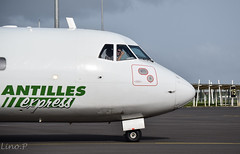 Hello guy ! ( Lino Spotting ) Tags: france plane airport gate tx taxi aircraft air airbus express boeing 3s 72 42 guadeloupe antilles airplaine atr taxiway caraibes ptp atr72 atr42 fwi tffr