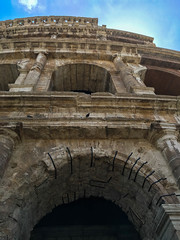 Colosseum (sarahrfergsn) Tags: italy rome roma history beautiful architecture landscape italia arch outdoor stonework historic colosseum vault amphitheater