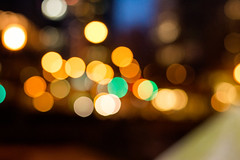 The Bokes (JayCWSee) Tags: city orange circle lights warm dof bokeh