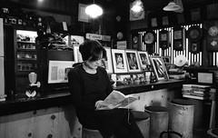 Gotemba, Japan. 2016 (Mambo Ferido) Tags: portrait blackandwhite film japan cafe kodak trix streetphotography photojournalism 135 filmgrain leicaimages believeinfilm staybrokeshootfilm photodocumentray pushthatfilm