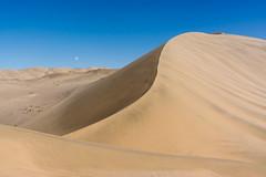 Singing Sand Mountains, Crescent Moon Lake, Dunhuang, Gansu Province, China (goneforawander) Tags: china travel nikon scenery asia desert historic backpacking silkroad gansu dunhuang d7100 goneforawander dunhuan enzedonline