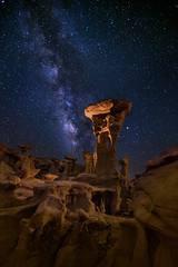 Throne of the Alien Overlord (Eric Gail: AdventuresInFineArtPhotography) Tags: ericgail 21studios canon canon70d 70d explore interesting interestingness photoshop lightroom nik software landscape nature infocus adjust photo photographer cs6 topazlabs picture newmexico ahshislepah alien throne alienthrone valleyofdreams lll