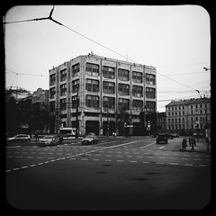 (TASS) (Andrey  B. Barhatov) Tags: city urban blackandwhite bw history architecture noir msk worldmap citywalks iphonecamera kitcam