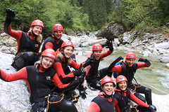 IMG_2680 (Mountain Sports Alpinschule) Tags: canyoning zillertal mayrhofen thebluelagoon mountainsports alpinschule canyoningintirol canyoningimzillertal canyoningtourbluelagoon