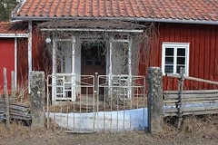 Sweden (annkarlstedt) Tags: old house building sweden cottage swedish smland sverige hus svensk stuga gammal byggnad