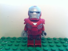 Mark 33 Silver Centurion (CTK Customs) Tags: 3 man silver iron lego 33 mark centurion