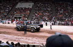 IMG_0047 (Nighthauler Photography) Tags: tractor cars truck pull meadowlands arena crushing bigfoot sled weight