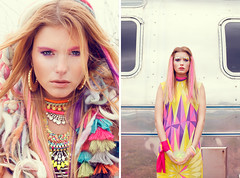 COCO MAGAZINE JULY ISSUE (MAELLE ANDRE) Tags: pink colors fashion rose yellow jaune hair outside photography model colorful pattern dress purple photoshoot outdoor couleurs makeup style jewelry bijoux andre blond agency blonde mauve caravan jewels ethnic airstream mode andr outfits modele maelle cheveux malle enchantr
