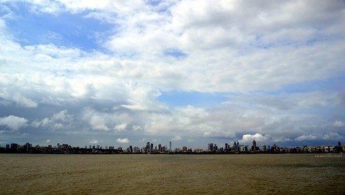 Monsoon Clouds over Mumbai Skyline