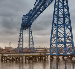Transporter bridge (jimsumo999) Tags: bridge canon eos rebel middlesbrough hdr tees transporterbridge teeside 450d jimsumo999
