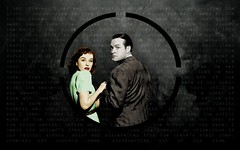 The Widow (Yudmila Molotova) Tags: film smoke hollywood montage typo bobhope oldmovie paulettegoddard theghostbreakers