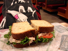 Roast Turkey, Ranch & Bacon sandwich (Morton Fox) Tags: food newcastle de fastfood arbys