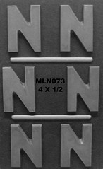 MLN073 (Chocolate Concepts) Tags: chocolate letters n number numbers letter mold