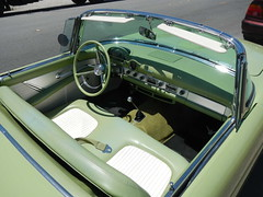 T-Bird interior (Civilized Explorer) Tags: ford thunderbird tbird civex