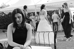 thinking (Marco sorre) Tags: street wedding bw milan love sad milano think streetphotography matrimonio bnw