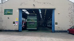Xelabus (PD3.) Tags: park uk england bus buses transport hampshire barton alexander 504 lothian leyland xela psv pcv csf olympian eastleigh hants xelabus k886csf k886