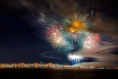 Navy Pier Fireworks (Bryan Nabong) Tags: longexposure chicago night illinois unitedstates time fireworks lakemichigan greatlakes northamerica navypier geography