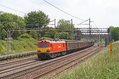 DB Dyson (Treflyn) Tags: west electric train wagon coast cow main rail railway loco db cargo class roast line vans locomotive ac tring 92 freight dyson wembley schenker daventry wcml 92015