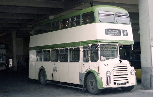 Blackpool Corporation 518 HFR 518E