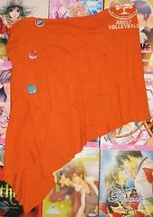 orange_slant_skirt_by_jamoomers-d20eai3 (JamieAstari) Tags: original ties pin handmade buttons oneofakind ooak sewing crochet tie tshirt skirt pins purse recycle reuse pinned revamp