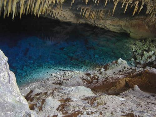 Gruta do lago azul em Bonito MS