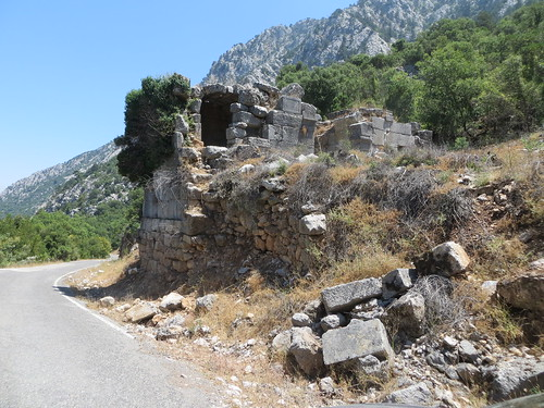 "Roman Toll House at line of ""Termessos Wall"" -- an Attalid line of defense for plain to East"