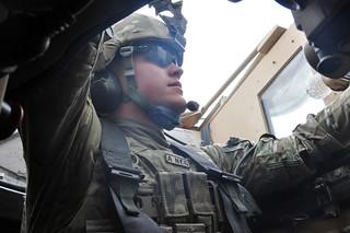 MRAP Soldiers