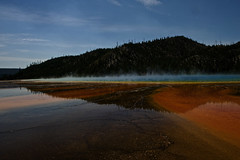 Hot Reflections! (Karen McQuilkin) Tags: nationalpark yellowstone geyser geothermal hotsprings steamheat wyomingwest karenandmc hotreflections