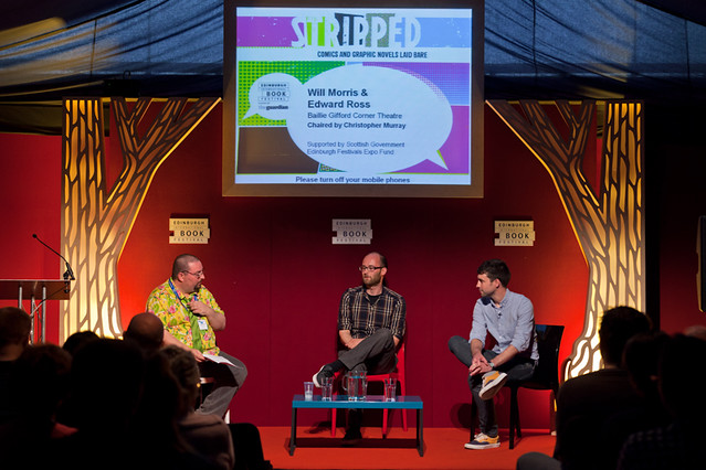 Will Morris and Edward Ross talk graphic novels