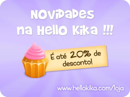 Novidades na Hellokika